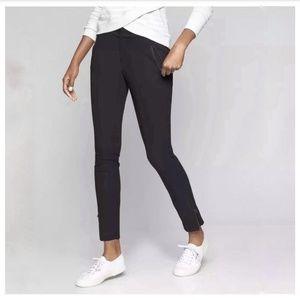 Athleta Skinny Wander Athletic Pants Zip Bottom 0